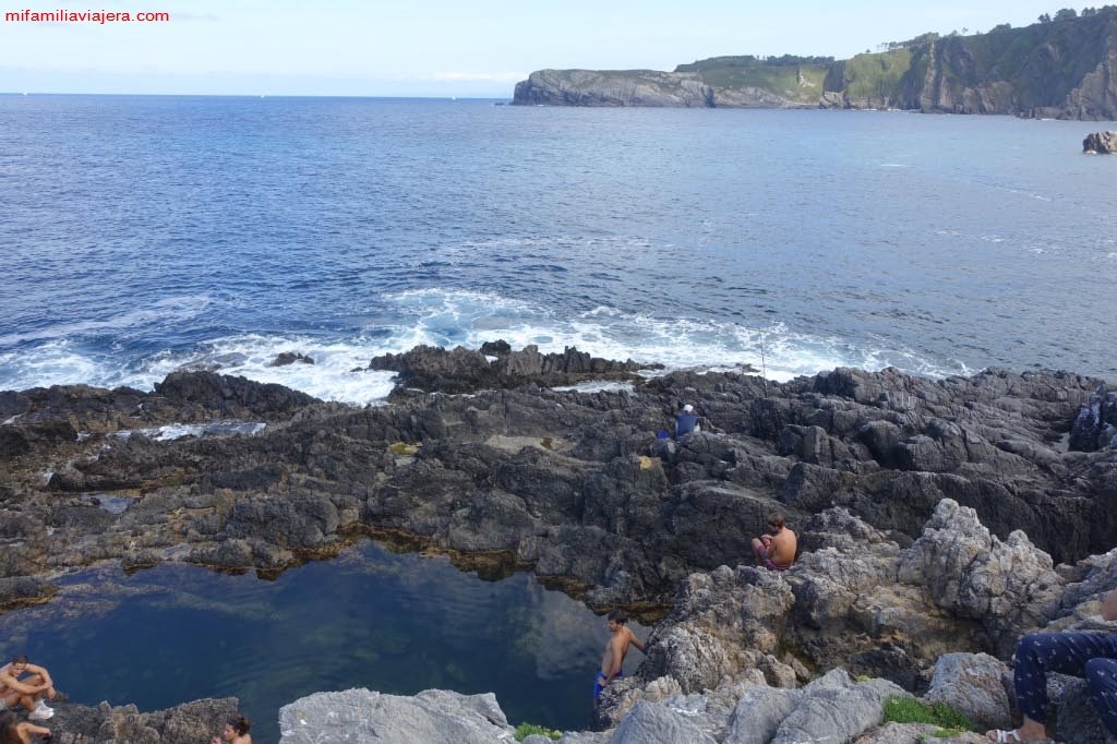 Piscinas naturales de Punta Palleya