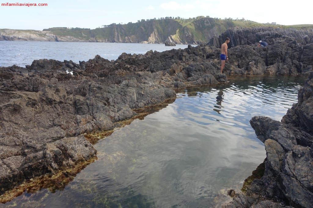 Lugar idílico para disfrutar de un baño de forma relajada y con unas vistas espléndidas