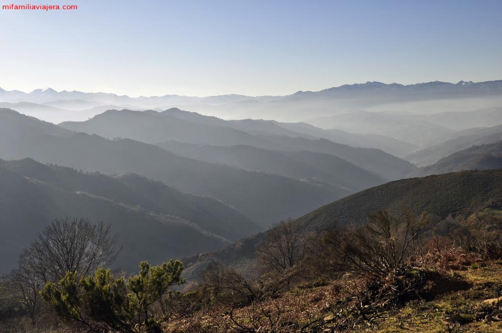 Valles de Laviana, Mieres y San Martín del Rey Aurelio