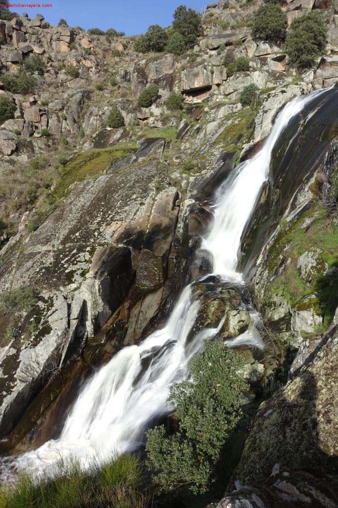 Cascada de las Lanchas de Aguas Bravas
