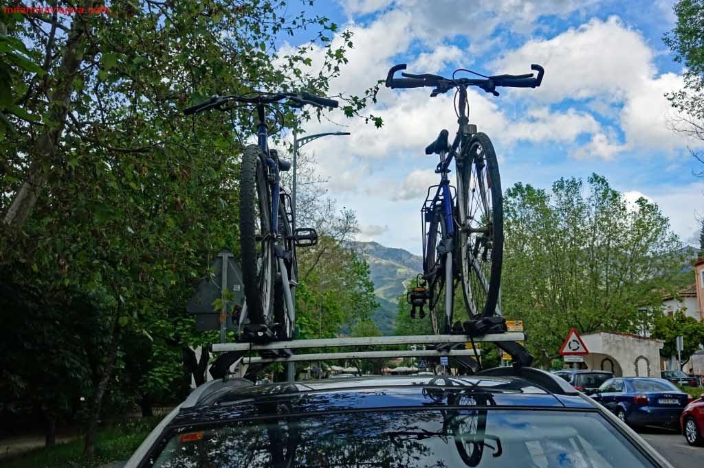 El alquiler de bicis es la opción más práctica, salvo que tengáis portabicicletas