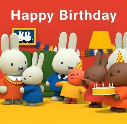 Happy Birthday To Miffy Miffy Blogs