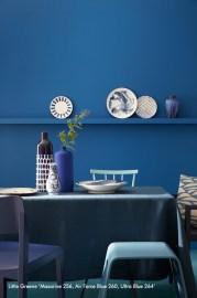 Mazarine, Air Force Blue, Ultra Blue