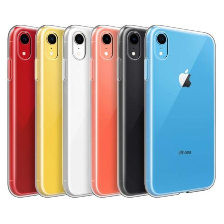 ⭐PARA APPLE IPHONE XR FUNDA CARCASA TRANSPARENTE DE GEL TPU PREMIUM