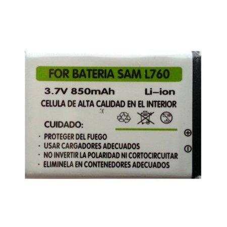 ⭐BATERIA COMPATIBLE PARA SAMSUNG L760 L768 Z150 DE 850 mAh