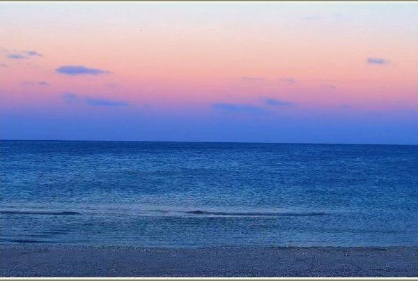 Как в Запорожской области на синем море наступил розовый ...