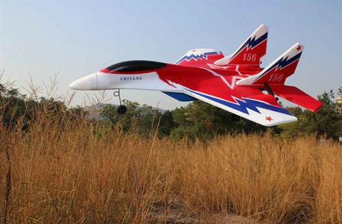 Радиоуправляемая модель самолёта МИГ 29