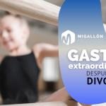 Gastos extraordinarios después del divorcio