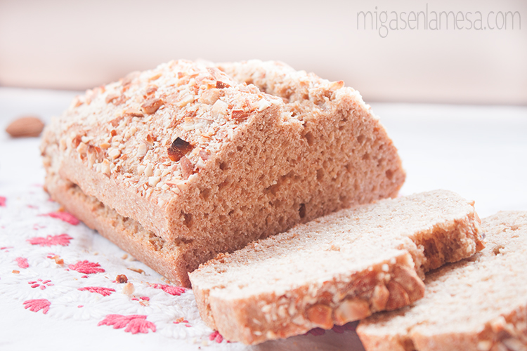 Pan sandwich leche almendra 2