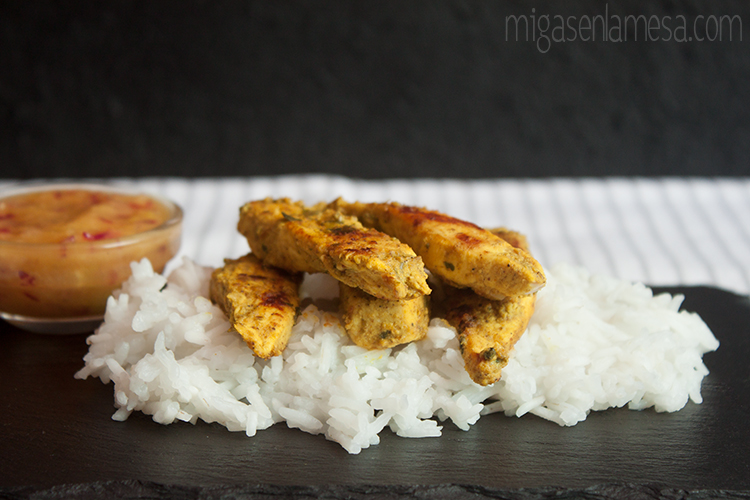 Pollo tandoori mango 2