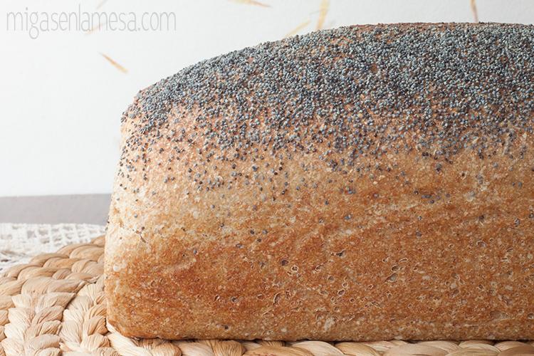 Pan de molde lavanda 1