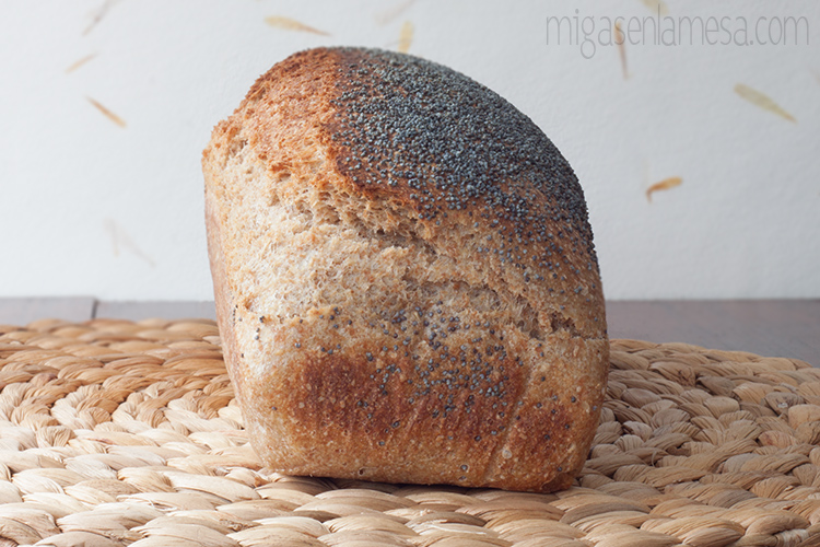 Pan de molde lavanda 2