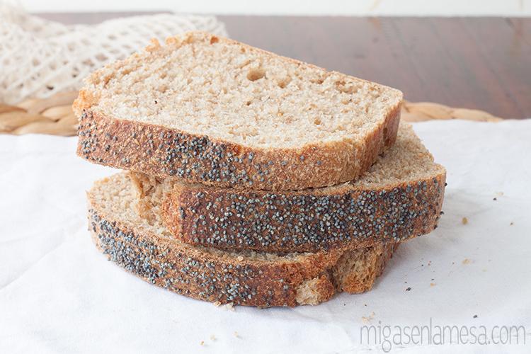 Pan de molde lavanda 3