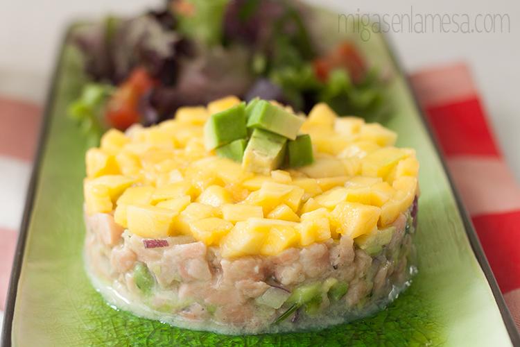 Ceviche salmon migasenlamesa