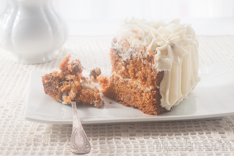 Well spiced carrot cake 3