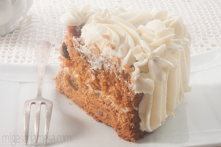 Well spiced carrot cake 4