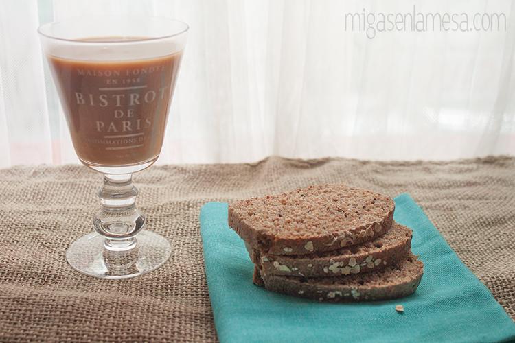 Pan integral de salvado de avena y lino [Oat broom bread de Peter Reinhart]