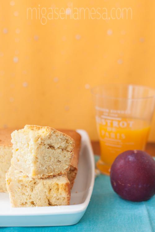 Cornbread o pan dulce de maíz