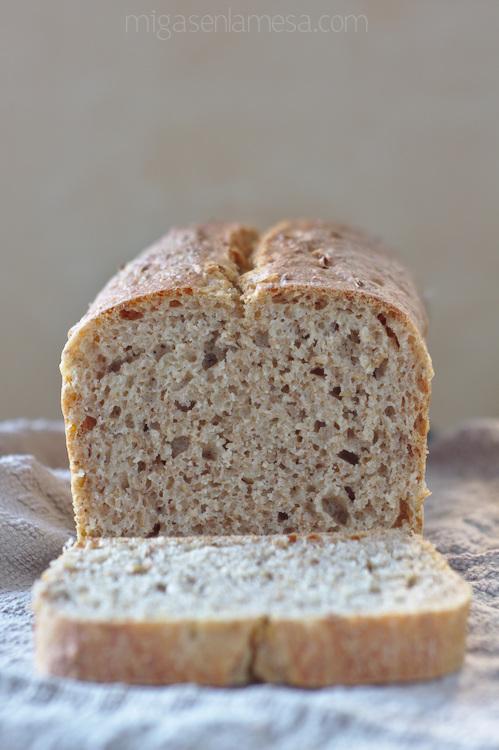 Pan de espelta y bagazo