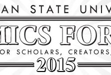 Michigan State University Comics Forum 2015