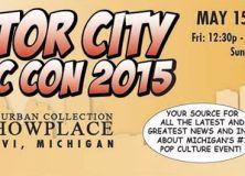 Motor City Comic Con 2015