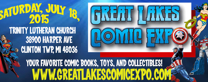 Great Lakes Comic Expo Summer 2015