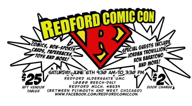 Redford Comic Con June 2015
