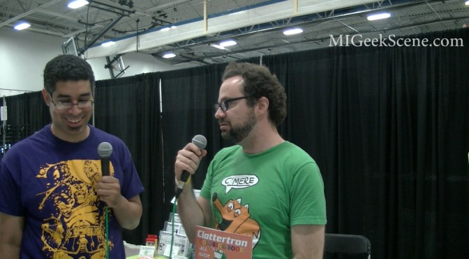 Daniel J Hogan Interview Capitol City Comic Con 2015