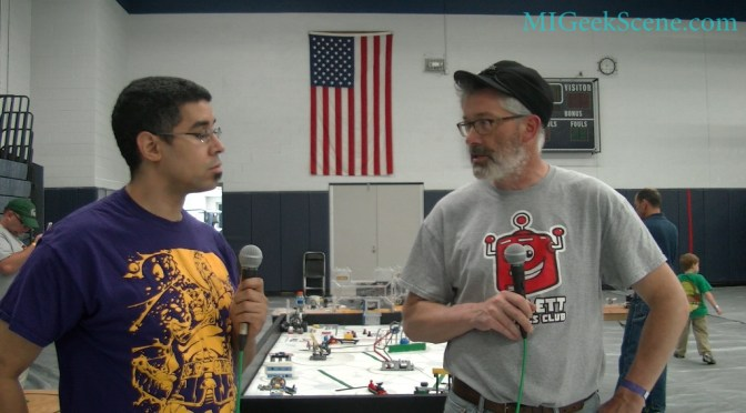 Haslett Robotics Club Interview Capitol City Comic Con 2015