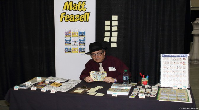 Matt Feazell Interview Capitol City Comic Con 2015