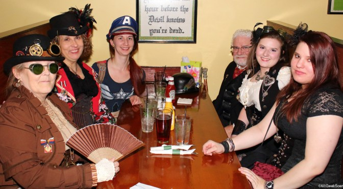 Sue Peel's Mad Hatters, Steampunk Celebration for GLFB 2015 Gallery