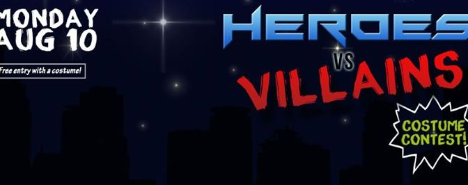 Factory's Heroes Vs Villains Cosplay Party