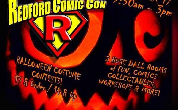 Redford Comic Con October 2015