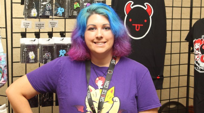 Stefanie Shall of Shuto Con at Random Battle Con 2015