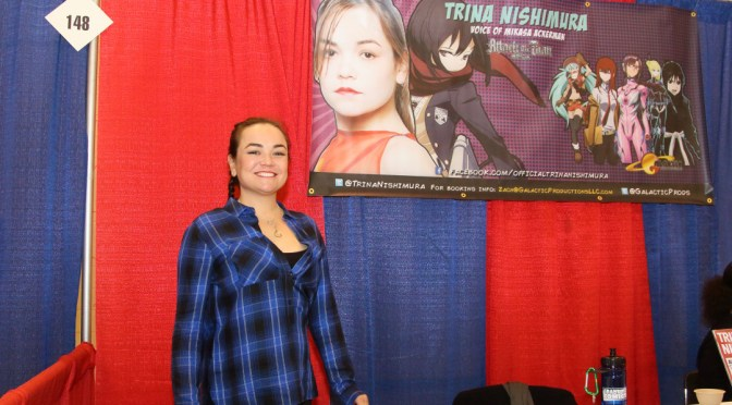 Trina Nishimura at the Grand Rapids Comic Con 2015