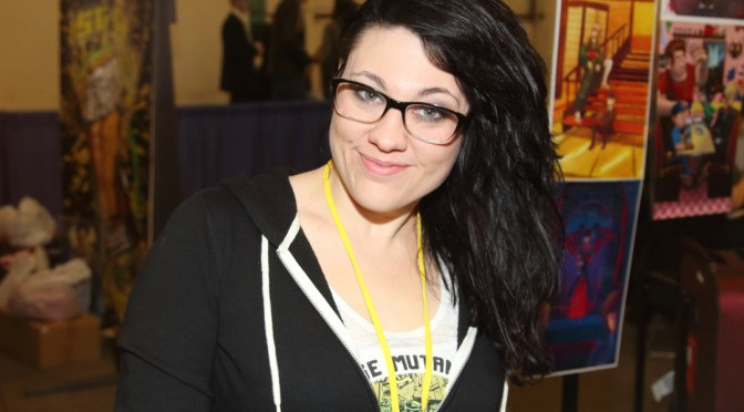 Kasey Pierce at the Grand Rapids Comic Con 2015