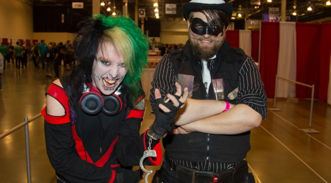 The Rogue's Gallery at the Motor City Comic Con 2016