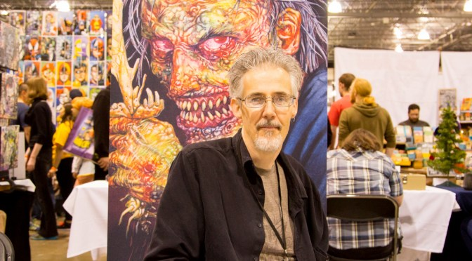Vince Locke at the Motor City Comic Con 2016