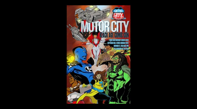 Motor City Black Age of Comics 2016