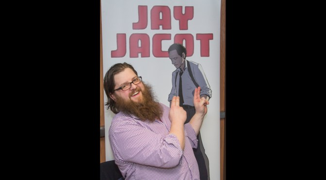 Jay Jacot at the MSU Comics Forum 2017