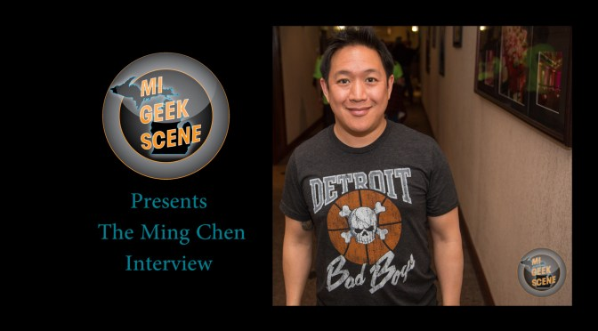 Ming Chen (AMC's Comic Book Men) at Astronomicon 2018