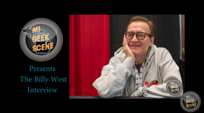 Billy West at the Cherry Capital Comic Con 2018