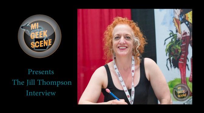 Jill Thompson at the Cherry Capital Comic Con 2018