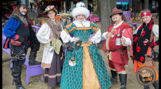 Michigan Renaissance Festival 2018 Revisited