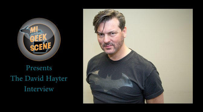David Hayter (Metal Gear Solid) at the Grand Rapids Comic Con 2018