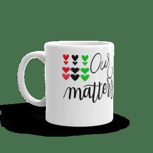 Our Story Matters Mug White