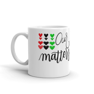Our Story Matters Mug White