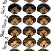 MightE Cute Mojis All Skin Tones