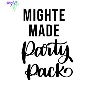 MightE Made Party Pack