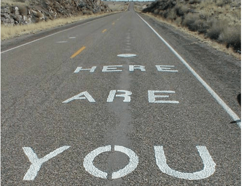 """""""you are here"""""""
